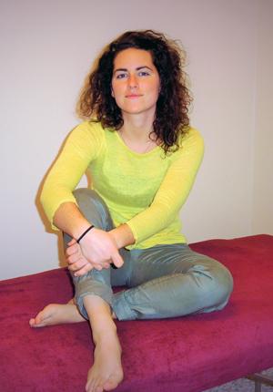 Camille Lebloys, votre praticienne professionnelle